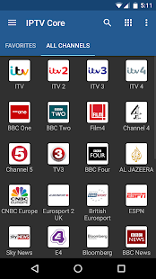 IPTV Core Capture d'écran