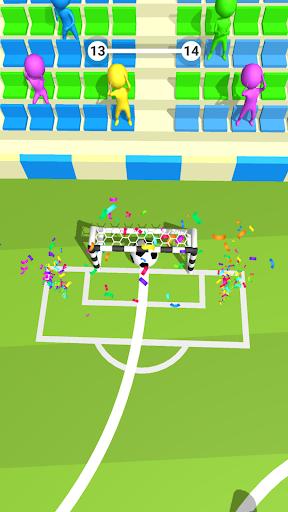 Télécharger Jeu de Football 3D mod apk screenshots 3