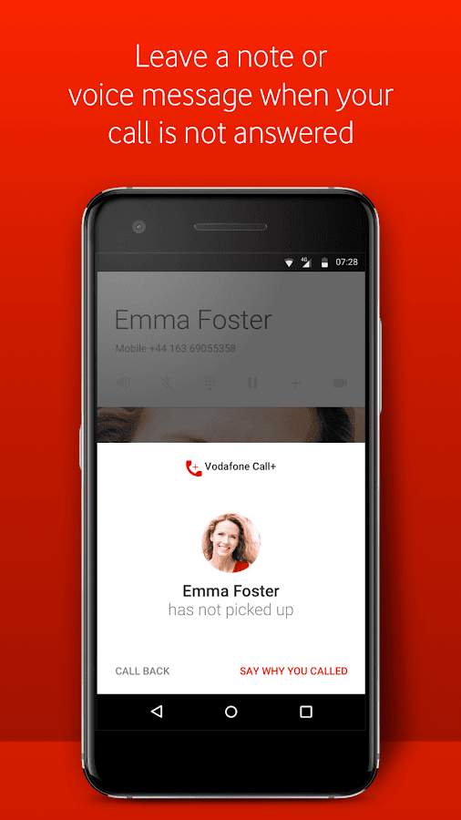 Vodafone call message android apps on google play vodafone call message screenshot ccuart Images