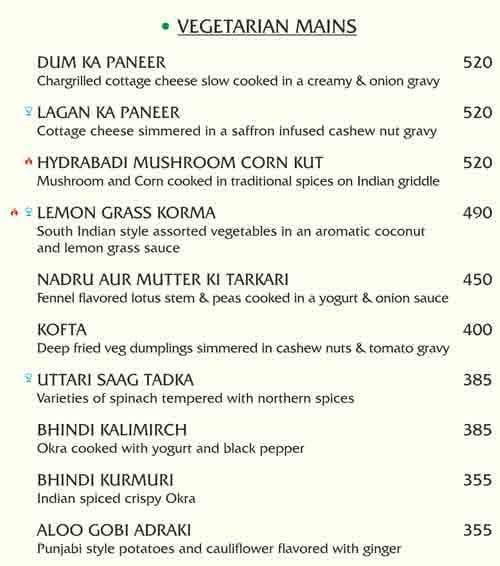 Phagun menu 1