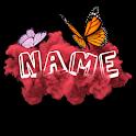 3D Smoke Effect Name Art Maker icon