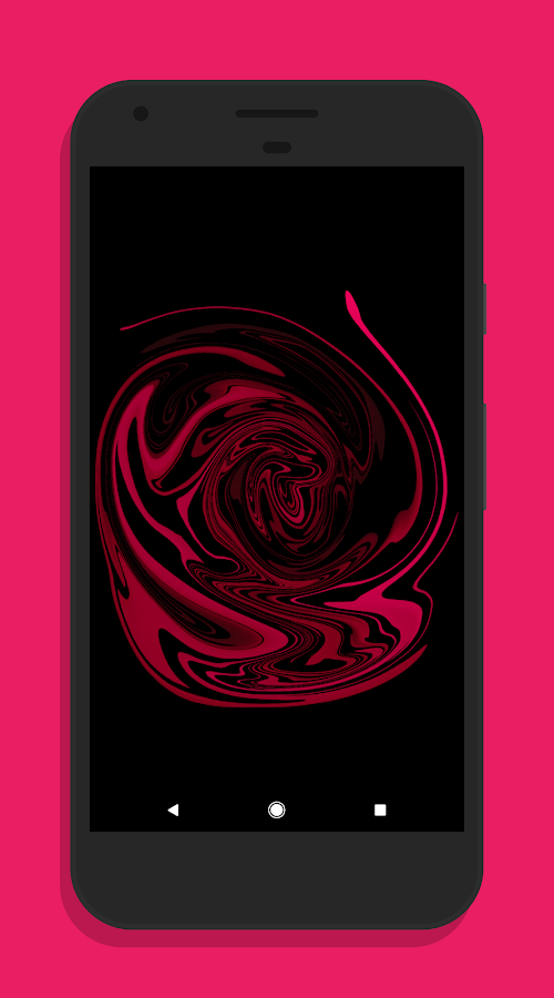 Liquify Walls - made for AMOLED (Free)- screenshot