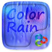 Color Rain Go Launcher Theme