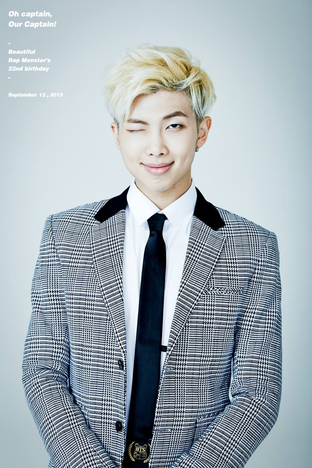 Happy랩몬day Armys Celebrate Bts Rap Monster S 22nd Birthday