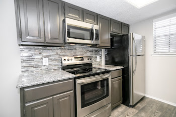 Go to A - 2 Bedroom, 2 Bath Remodeled Floorplan page.