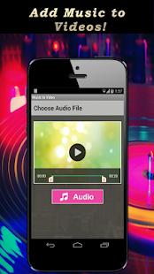 Hudba na video - náhled