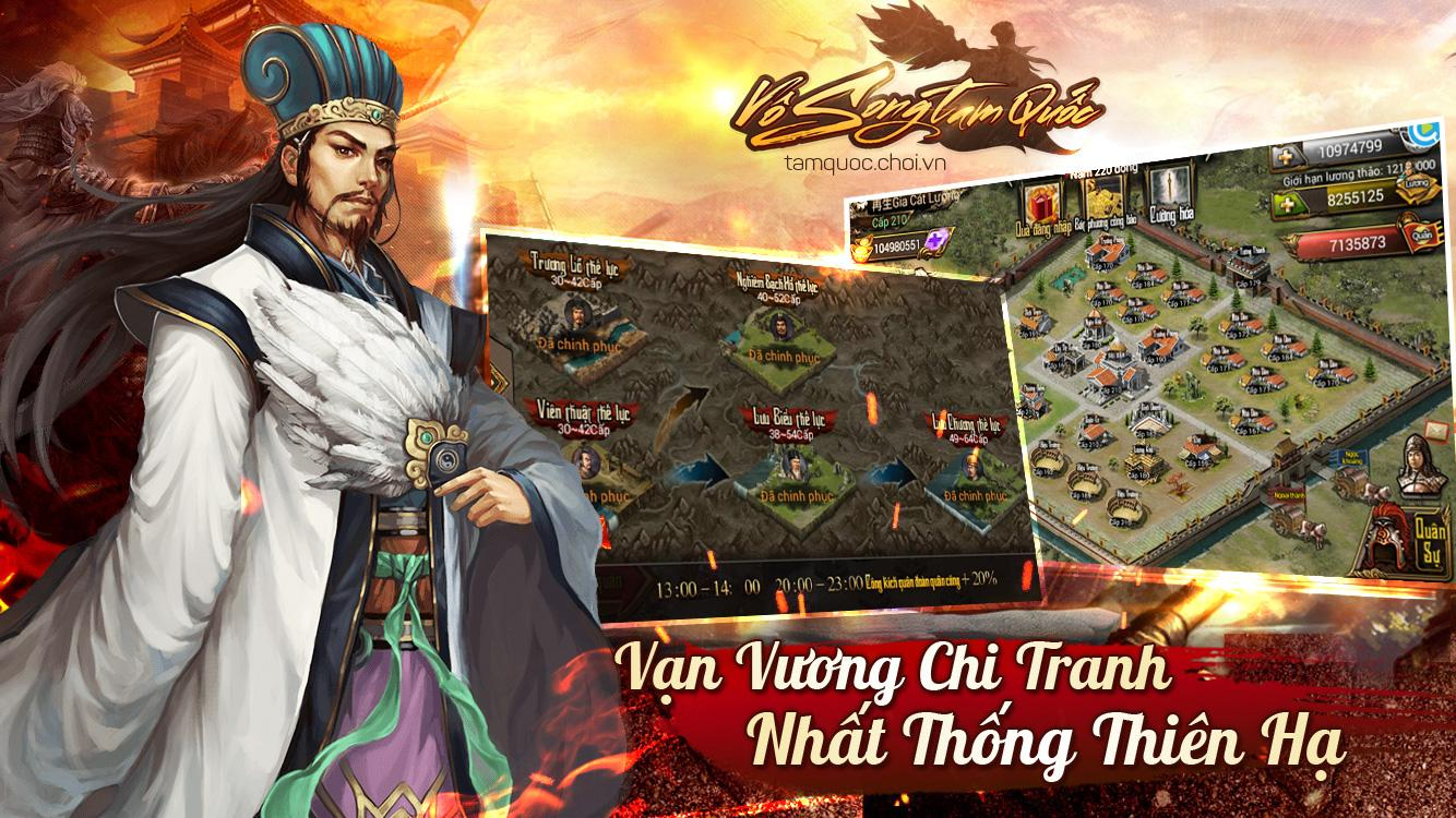Vô Song Tam Quốc- screenshot