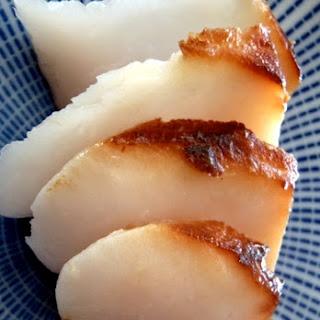 Miso Marinated Black Cod Recipe with Bok Choy-Pepper Stir Fry.
