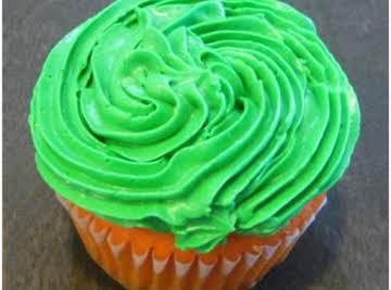 Irish Vanilla Bean Cupcakes