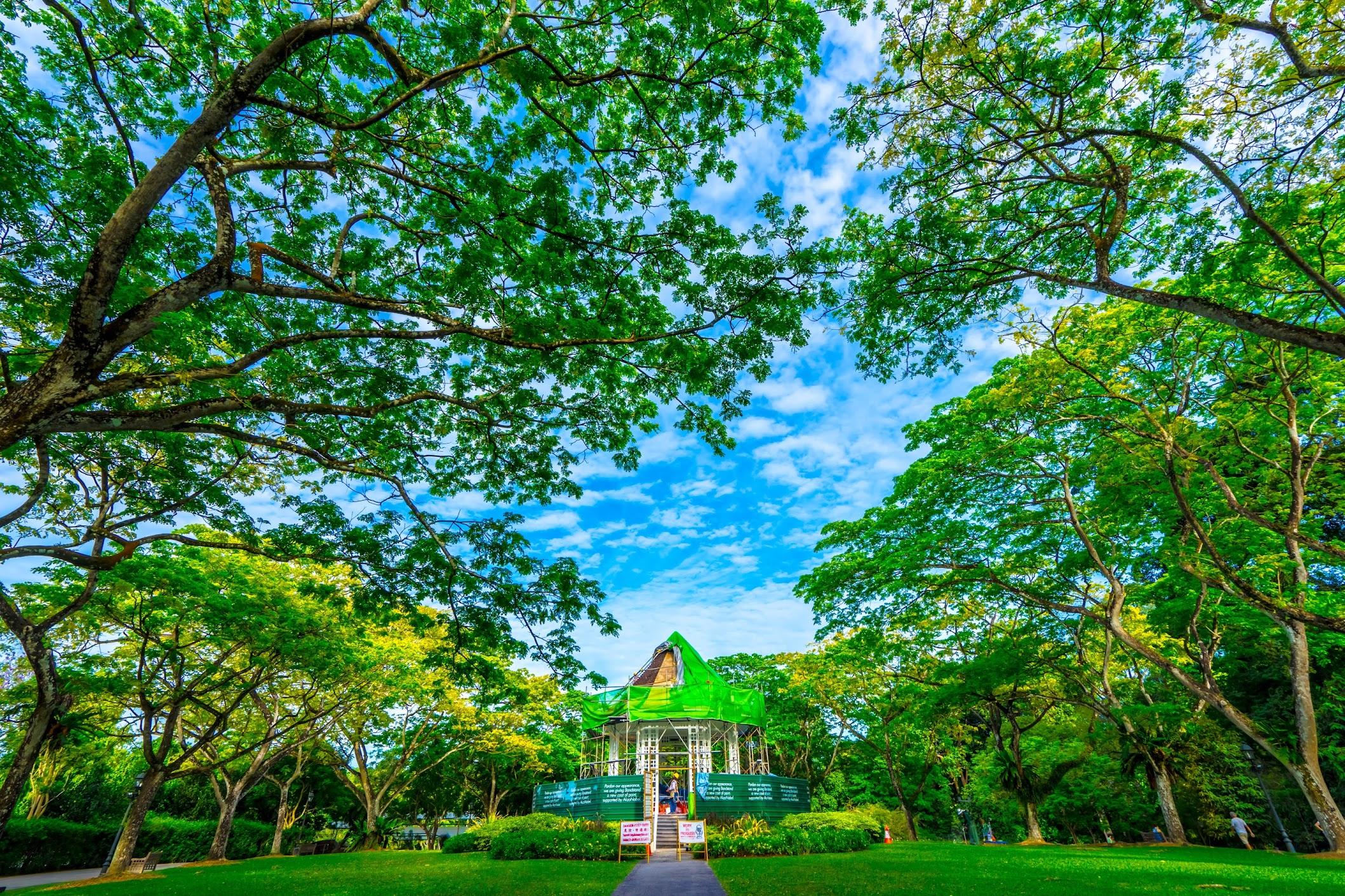 シンガポール植物園(ボタニック・ガーデン) バンドスタンド1