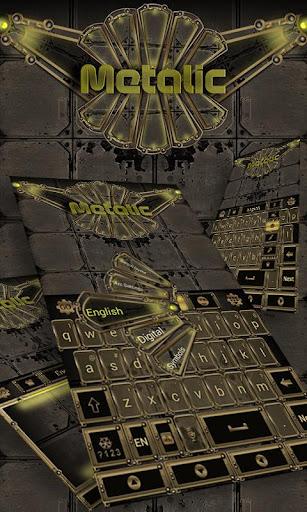 Metalic Keyboard Theme