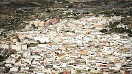 Imagen panorámica de Alhama de Almería.