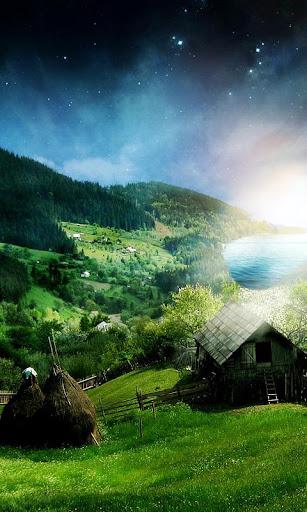 美丽的家园的天空 live wallpaper