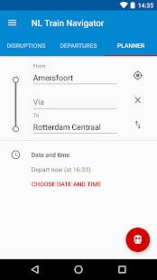 NL Train Navigator- screenshot thumbnail