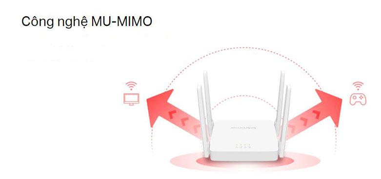 Thiết bị mạng/ Router Mercusys AC10 | Công nghệ Mu-MiMo