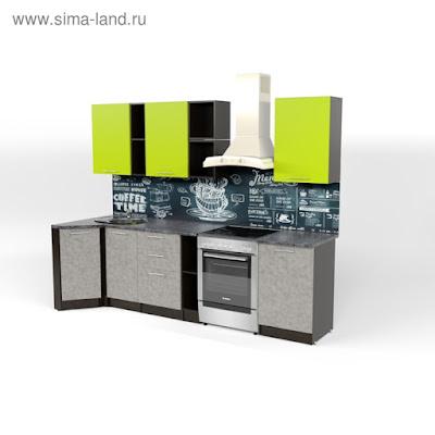 Кухонный гарнитур Анна прайм 4 900*2000 мм