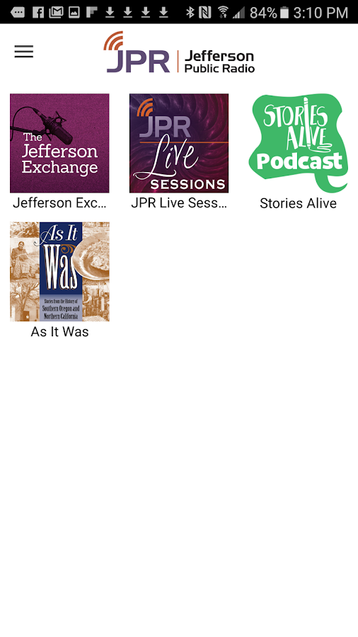Jefferson Public Radio- screenshot