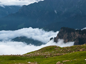 Photo: View from Marrhi, Manali-Leh Highway, Himachal Pradesh, Indian Himalaya