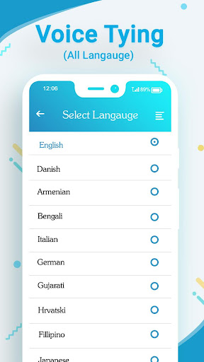 Voice Typing in All Language 1.1 screenshots 2