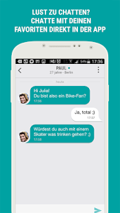 NEU.DE – Partnersuche App- screenshot thumbnail