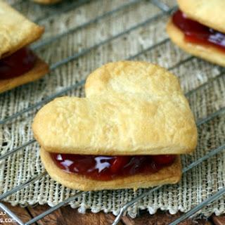 Heart Shaped Cherry Pies