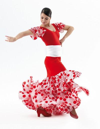 jupe flamenco 7442