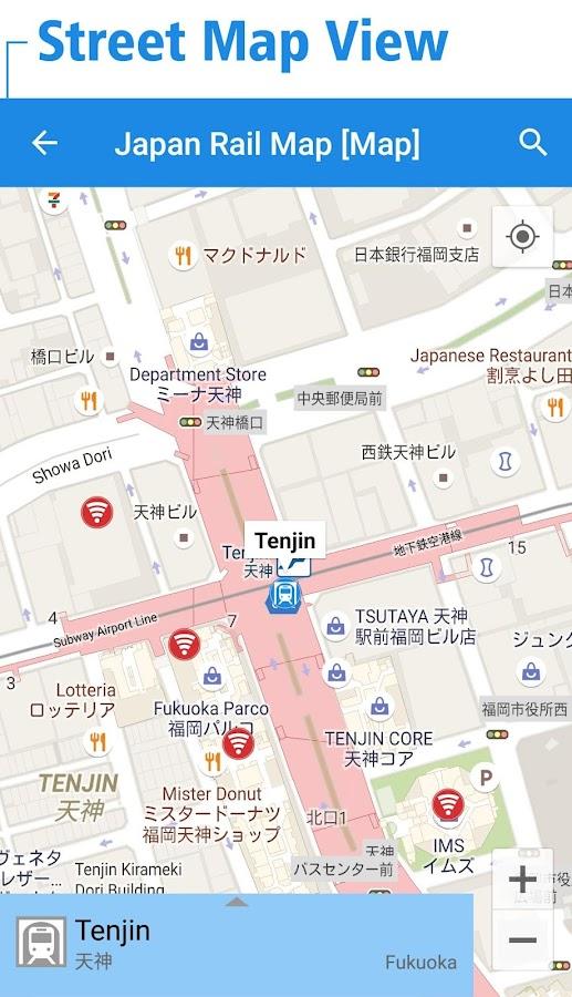 Japan Rail Map Tokyo Osaka Android Apps On Google Play - Japan map view