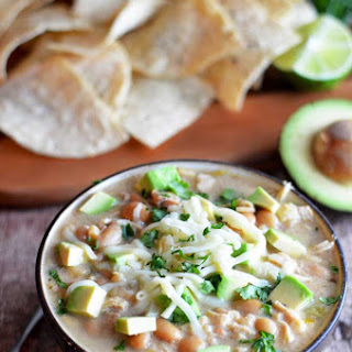 Crock Pot White Bean Chicken Chili