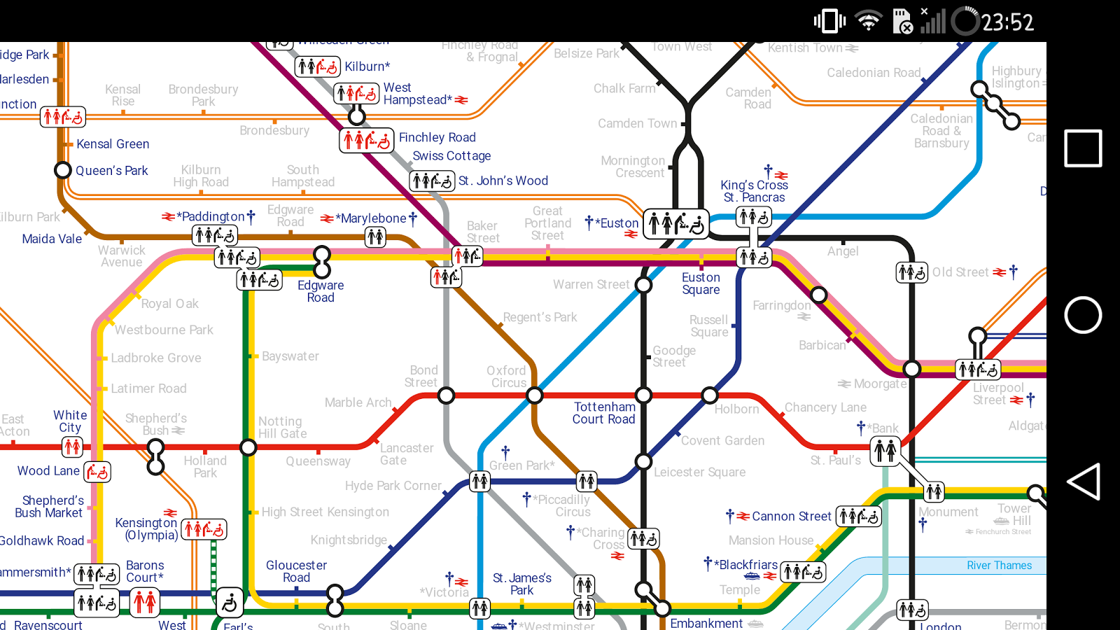 London Transport Maps- screenshot