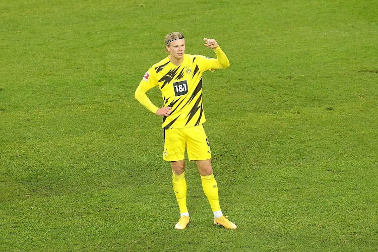 L'amertume d'Erling Haaland après la nouvelle défaite du Borussia Dortmund