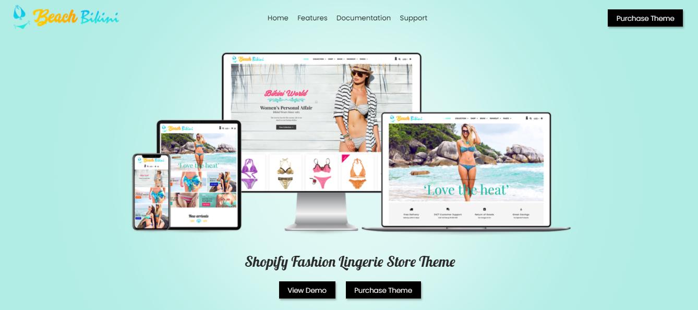 Bkini - Bikini shopify theme