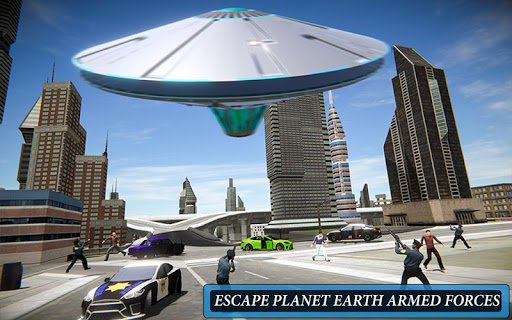 Code Triche Volant UFO Simulateur Spaceship Attaque Terre APK MOD screenshots 6