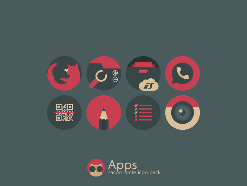 Sagon Circle Icon Pack Screenshot 8