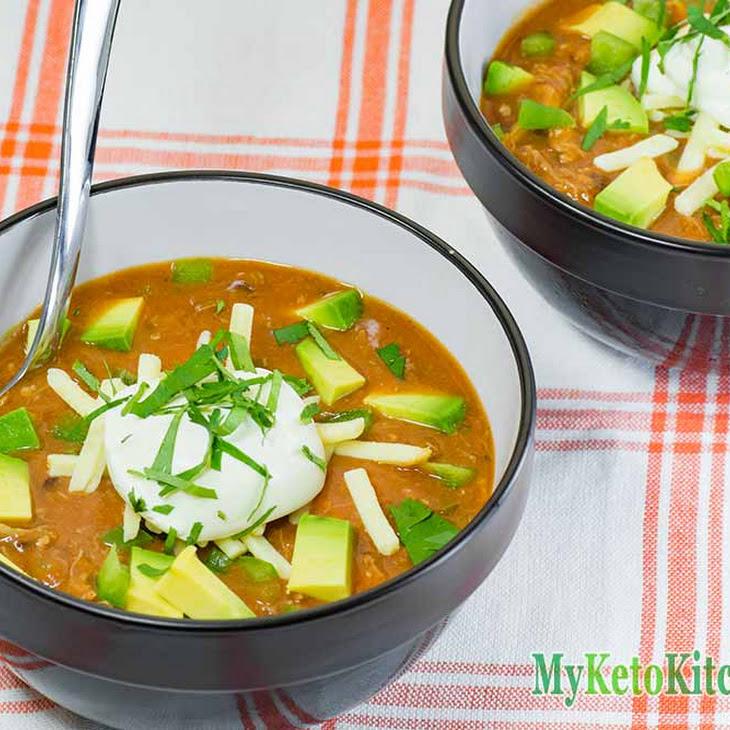 Low Carb Taco Soup