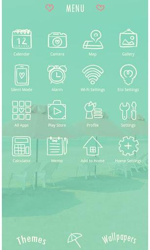 Summer Wallpaper-Retro Beach- 1.0.0 Windows u7528 2