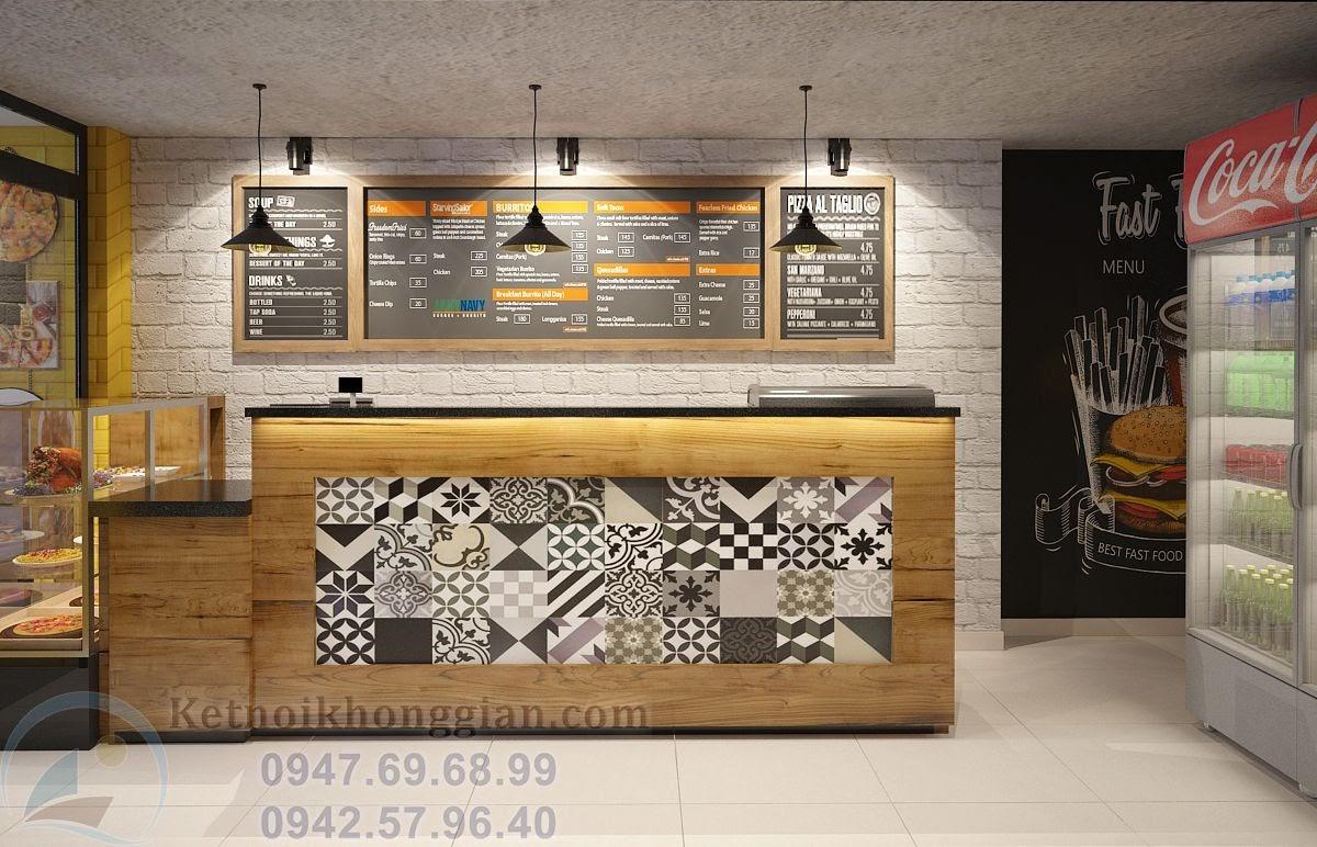 thiết kế quán ăn nhanh ở phố cổ Hà Nội