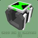Mod Ben Alien MCPE V3 - Addon Skins 2021 icon
