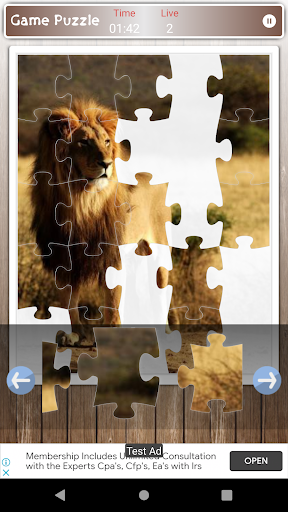 Lion Game Jigsaw Puzzle  screenshots 4