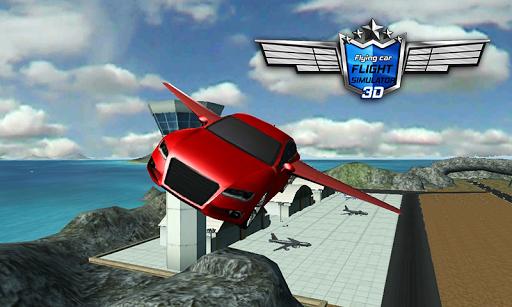 Flying Car Flight Simulator 3D