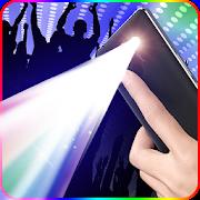 Color screen flashlight- disco light & Torch LED