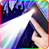 Color screen flashlight- disco light & Torch LED