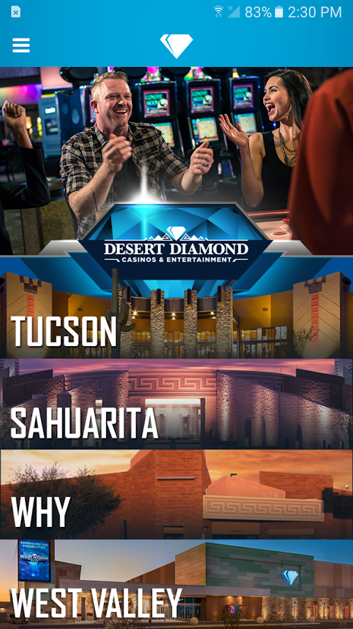Desert Diamond Casinos- screenshot