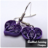 Quilling Paper Earrings