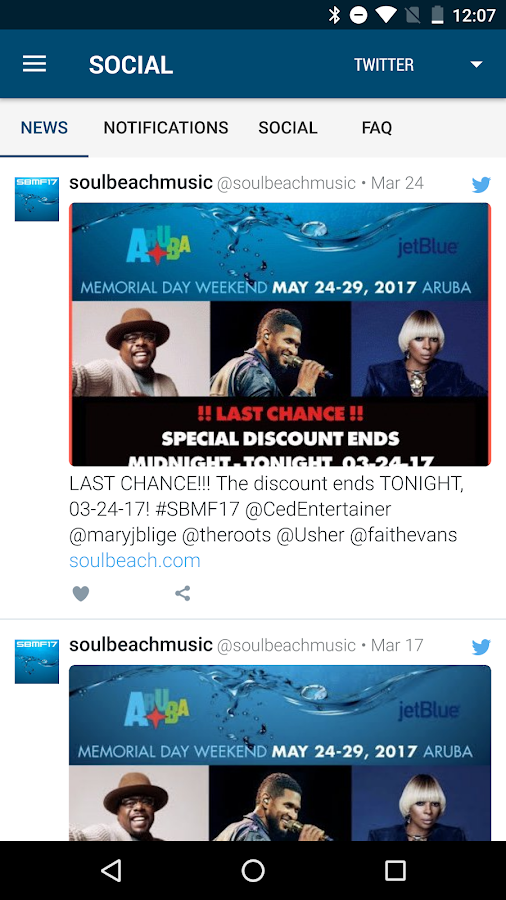 Soul Beach Music Festival- screenshot