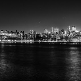 New York City by Stephen Majchrzak - Black & White Buildings & Architecture