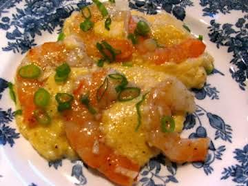 Grits and Garlic Shrimp