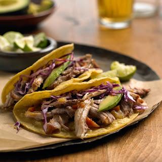 Candace's Carnitas Tacos.