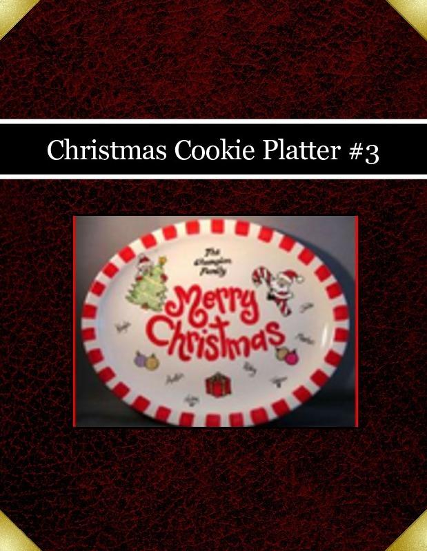 Christmas Cookie Platter #3