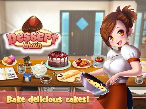 Dessert Chain: Cafu00e9 Waitress & Restaurant Chef 0.8.10 screenshots 4