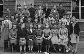 Photo: Klasse 7a 1952